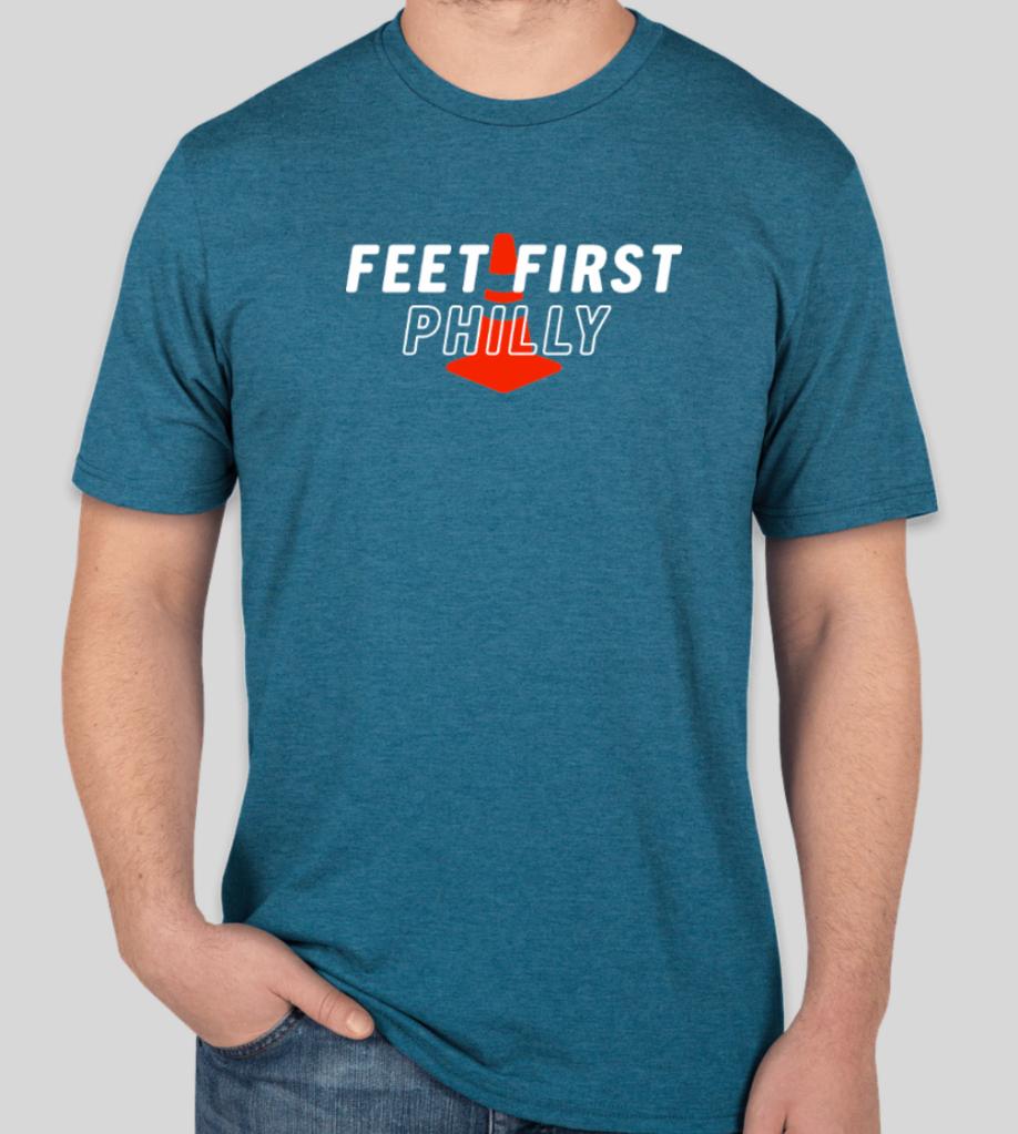 heathered Neptune T-shirt